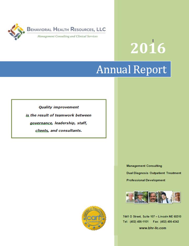 Annual Reports - BHR, LLC.